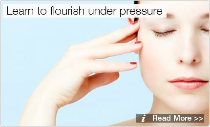 Learn to flourish under pressure with YOGA